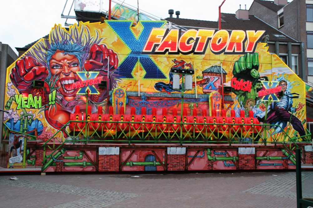 X Factory KMG attractie